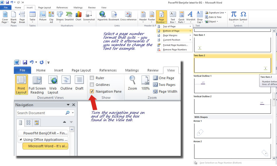 Using Office Applications - Word - Part 1 of 3